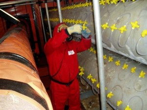 using the asbestostrip safe asbestos removal system